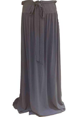 Lanvin Silk maxi skirt
