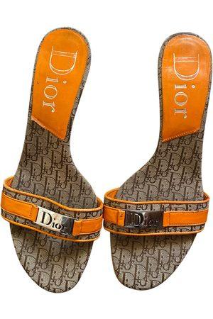 Dior Cloth mules