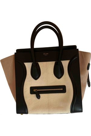 Céline Luggage Phantom pony-style calfskin tote
