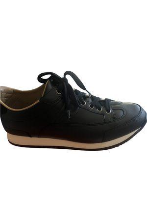 Hermès Goal leather trainers