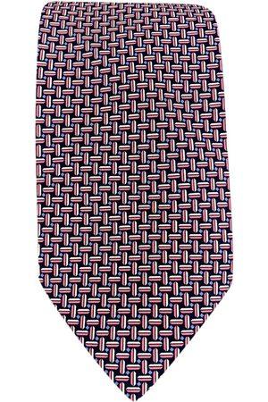 BRIONI Men Neckties - Navy Silk Ties