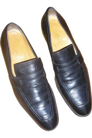 Hermès Leather Flats
