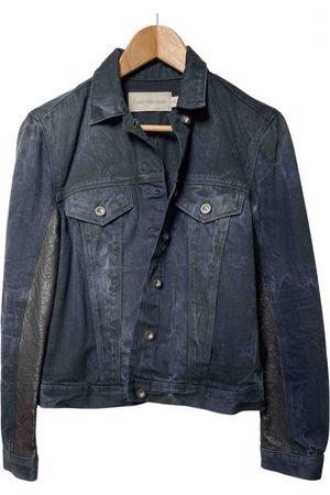 Calvin Klein Leather short vest