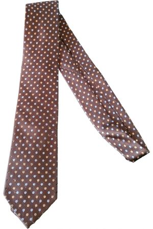 EMMANUELLE KHANH Silk tie