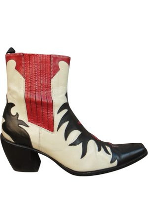 SARTORE Women Ankle Boots - Leather western boots