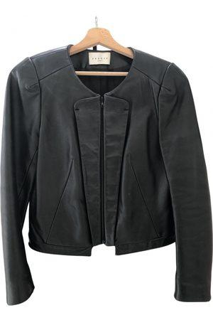 Sandro Women Leather Jackets - Leather blazer
