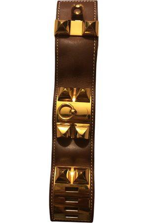 Hermès Collier de chien leather bracelet