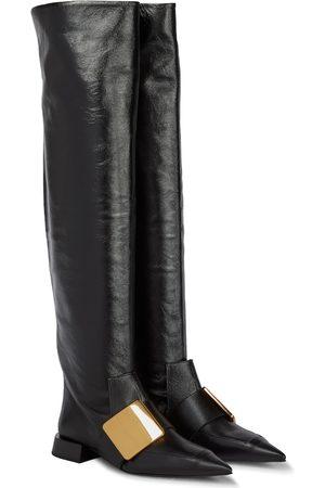 Jil Sander Women Thigh High Boots - Knee-high leather boots