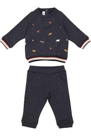 Tartine Et Chocolat Baby cotton-blend sweatshirt and sweatpants set