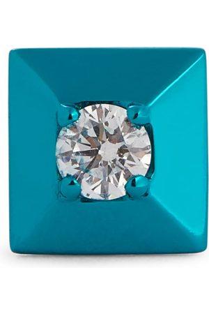 Eera Women Studs - Mini 18kt white gold single earring with diamond