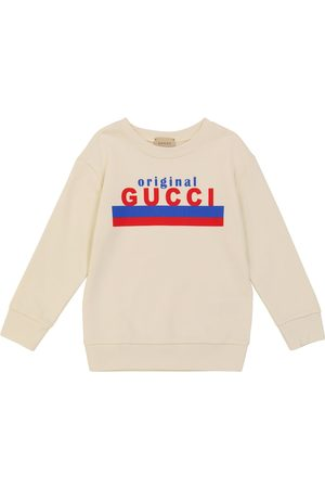 Gucci Long sleeves - Long-sleeved cotton sweatshirt