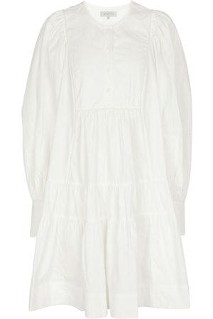 Lee Mathews France cotton poplin minidress