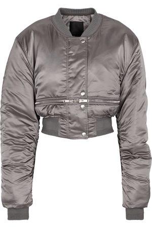Givenchy Cropped nylon bomber jacket