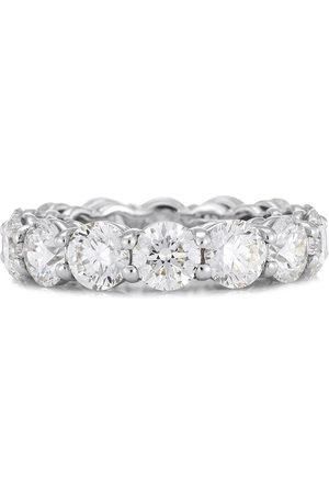 De Beers Jewellers Women Rings - Platinum DB Classic Full Eternity 0.5ct diamond band