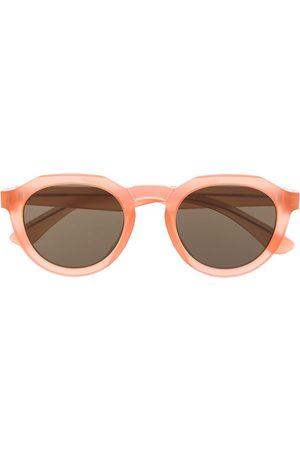 MYKITA X Maison Margiela transparent frame sunglasses