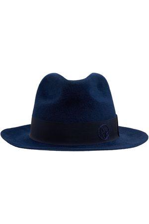 Ruslan Baginskiy Women Hats - Monogram Felted Fedora Hat