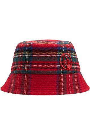Ruslan Baginskiy Monogram Wool Lampshade Bucket Hat