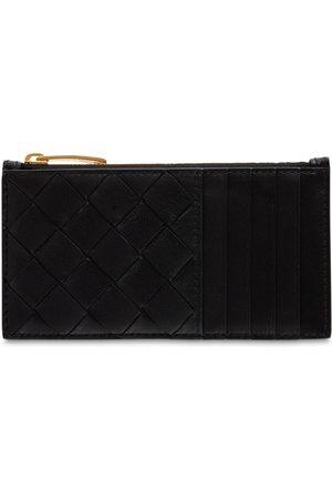 Bottega Veneta Intreccio Nappa Leather Card Case