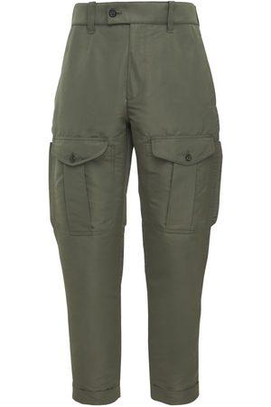 Alexander McQueen Nylon Cargo Pants