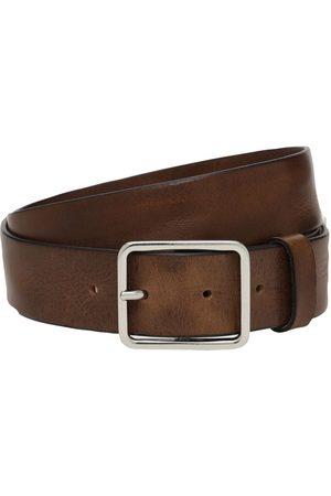 Diesel 3.5 Cm B-straight Leather Belt