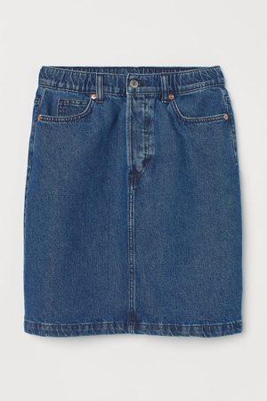H&M Women Denim Skirts - High Waist Denim Skirt