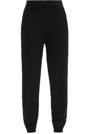 ASCENO Women Sweats - Moscow Crepe Trousers - Womens