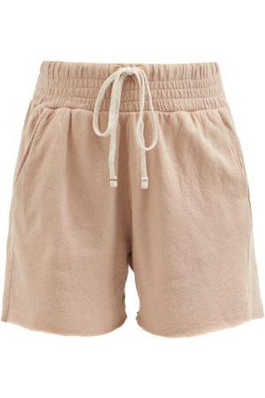 Les Tien Women Sweats - Yacht Cotton French Terry Shorts - Womens - Light