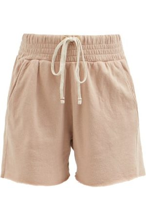 Les Tien Yacht Cotton French Terry Shorts - Womens - Light