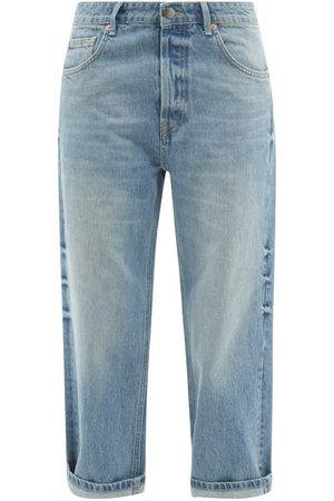 Raey Dad Organic-cotton Baggy Boyfriend Jeans - Womens - Light
