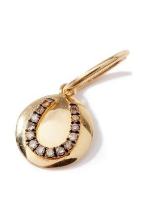 Rosa De La Cruz Horseshoe Diamond & 18kt Charm - Womens
