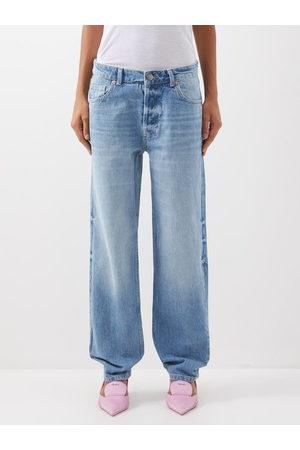 Raey Women Boyfriend Jeans - Opa Organic-cotton Baggy Boyfriend Jeans - Womens - Light