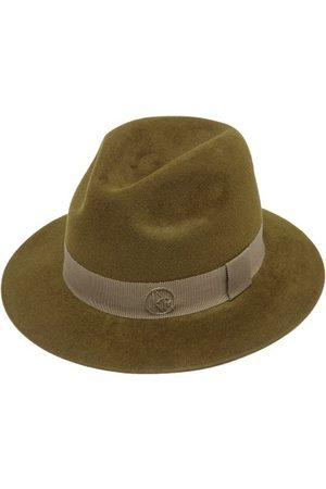 Ruslan Baginskiy Women Hats - Grosgrain-trim Felt Fedora - Womens