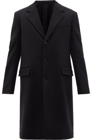 Bottega Veneta Single-breasted Wool Coat - Mens