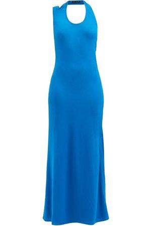 Proenza Schouler Cutout Crepe Maxi Dress - Womens
