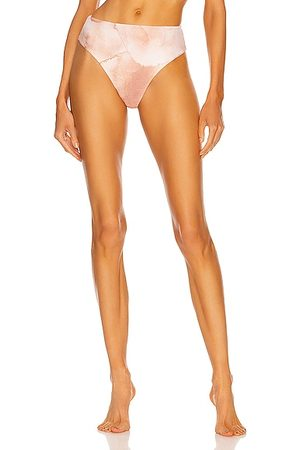 Haight Highleg Hotpants Bikini Bottom in Blush
