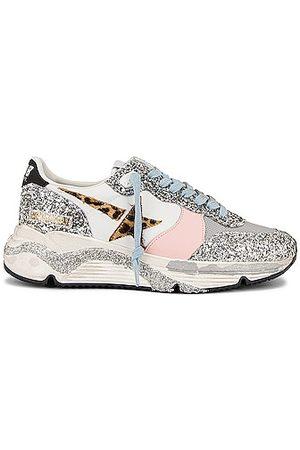 Golden Goose Running Sole Sneaker in Metallic