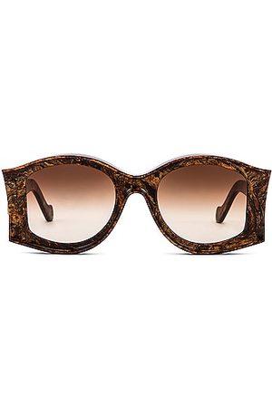 Loewe Paula's Ibiza Round Acetate Sunglasses in