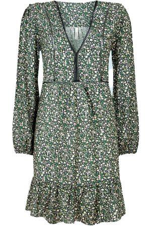 Pepe Jeans Emily Long Sleeve Dress M Multi