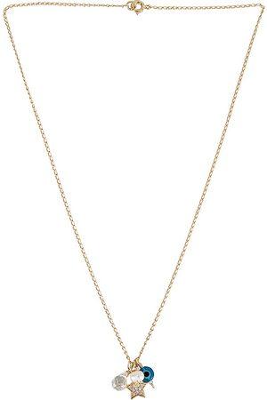 Mercedes Salazar Estrellita Necklace in Metallic .