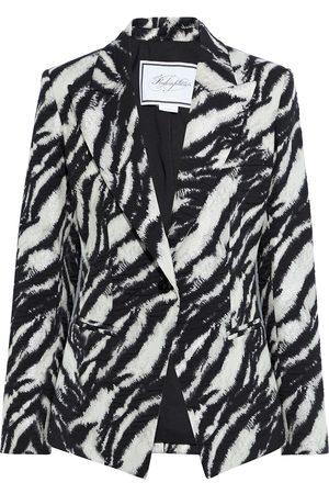 Redemption Women Blazers - Woman Metallic Cotton-blend Jacquard Jacket Size 38
