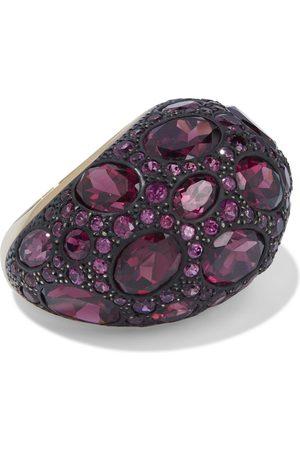 Pomellato Woman Tabou 18-karat Gold Rhodolite Ring Violet Size 53