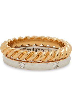 POMELLATO Woman 18-karat And White Diamond Ring Size 51