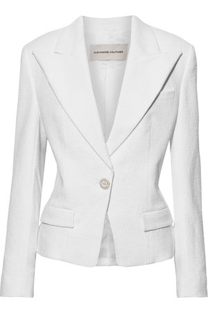 ALEXANDRE VAUTHIER Women Blazers - Woman Cotton-blend Tweed Blazer Size 42