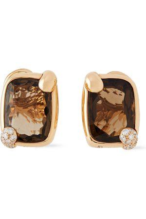 POMELLATO Woman 18-karat Diamond And Quartz Earrings Size