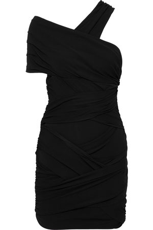 ALEXANDRE VAUTHIER Woman Off-the-shoulder Ruched Stretch-jersey Mini Dress Size 42