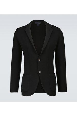 Lardini Knitted wool jacket