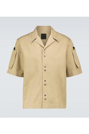 Givenchy Cotton and linen gabardine shirt