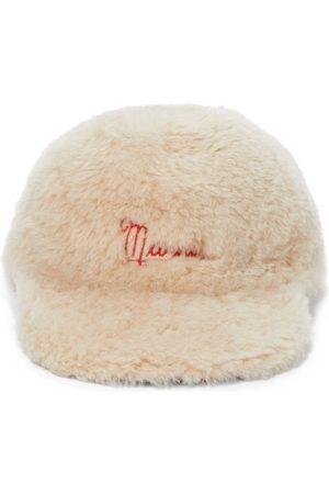 Marni Shearling baseball cap