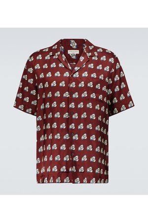 DRIES VAN NOTEN Short-sleeved printed shirt