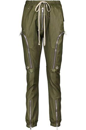 Rick Owens Bauhaus Cargo leather pants